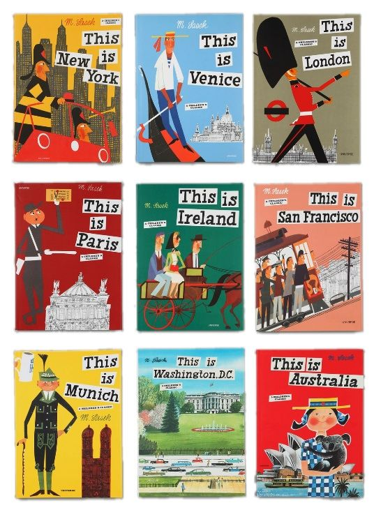 "{Travel books for kids} The ""This Is. . ."" series. We love these books and I am so excited to have finally collected a bunch of the titles for our family! Excellent holiday gift idea for anyone with a severe case of wanderlust! (Adults included!)"