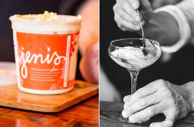 Absinthe & Meringues ice cream, straight no chaser.