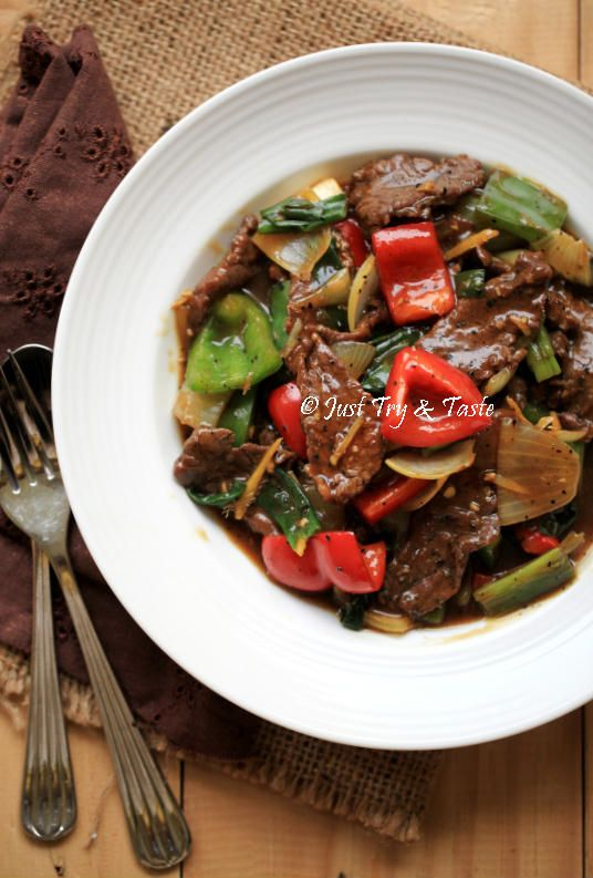 Just Try & Taste: Resep Sapi Lada Hitam