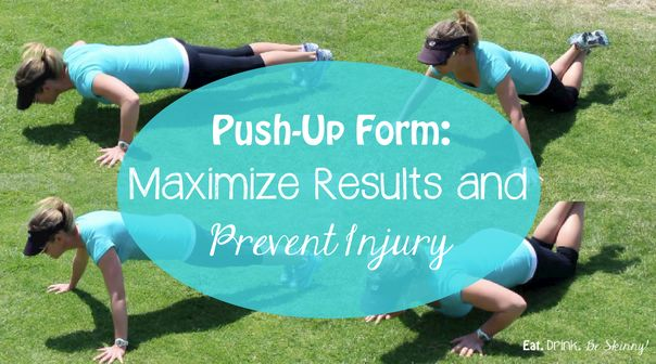 Push-Up Form- Maximize Results and Prevent Injury