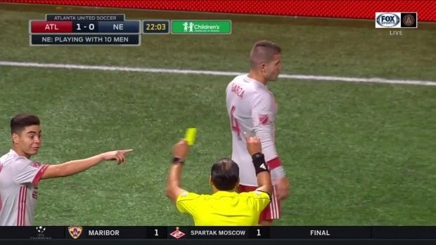 #MLS  YELLOW CARD: Leandro Gonzalez Pirez goes into the book