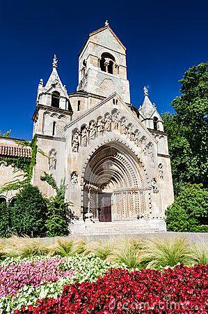 Jak Chapel is an imitation of Romanesque Abbey of Transdanubian village of Jak.