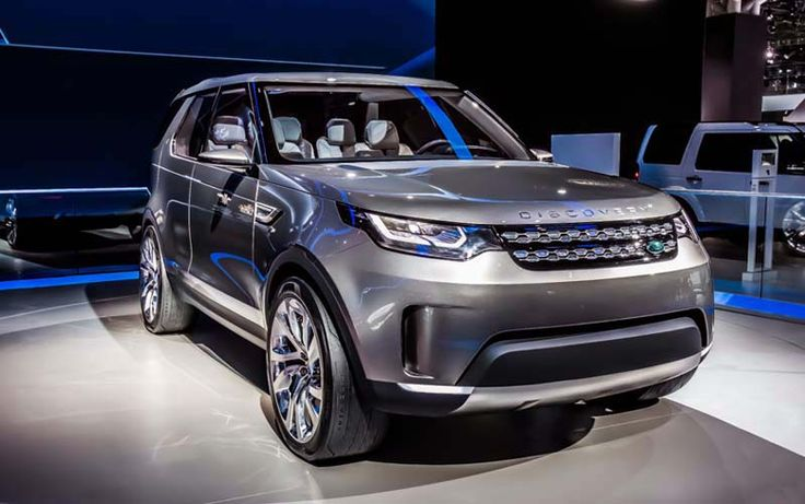 2018 Land Rover Discovery overview