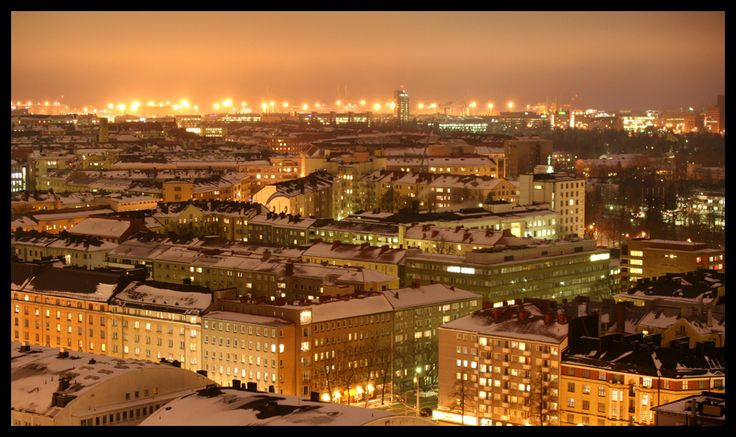 Helsinki City Lights 3 by ~HannaV on deviantART