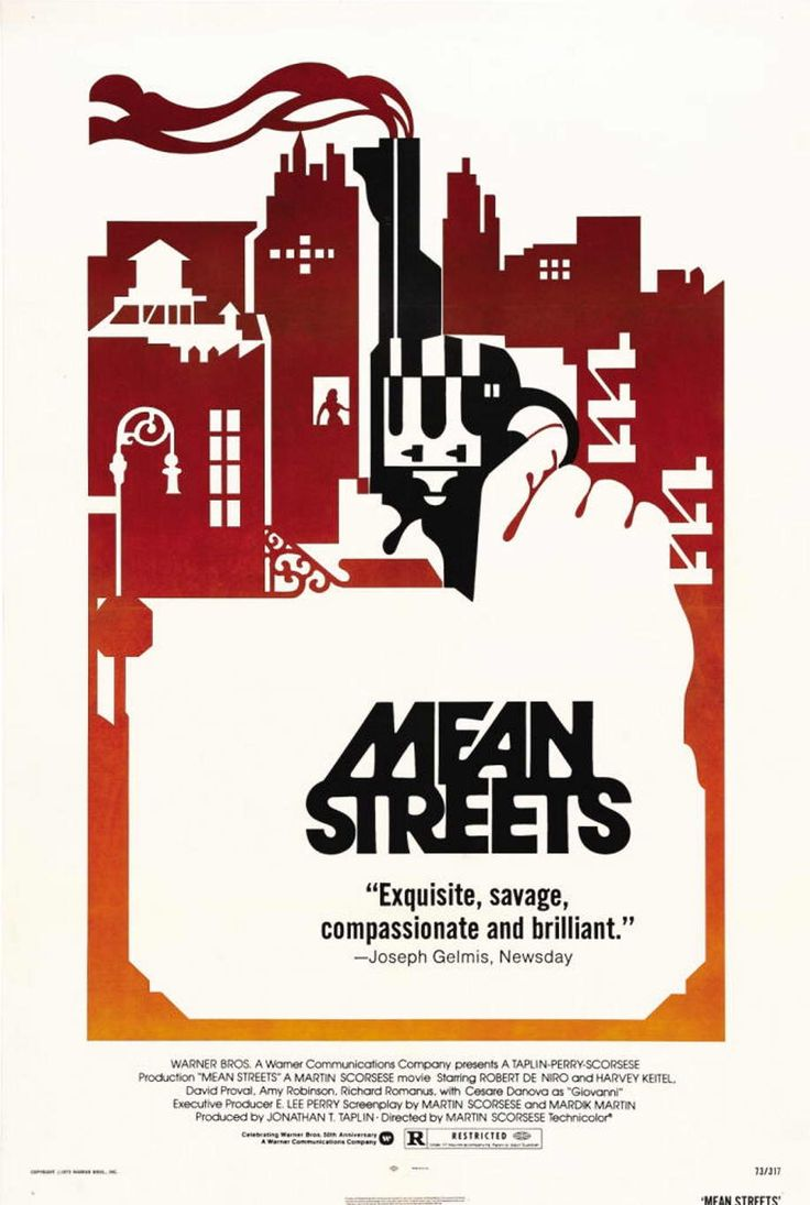 Mean Streets Poster - Scorcese