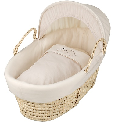baby unisex moses basket