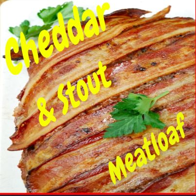 Cheddar & Stout Meatloaf.  Click Picture & Get Your Copy of Mouthwatering St Patrick's Day Recipes http://marleneroberson.com/st-patricks-day-recipes/