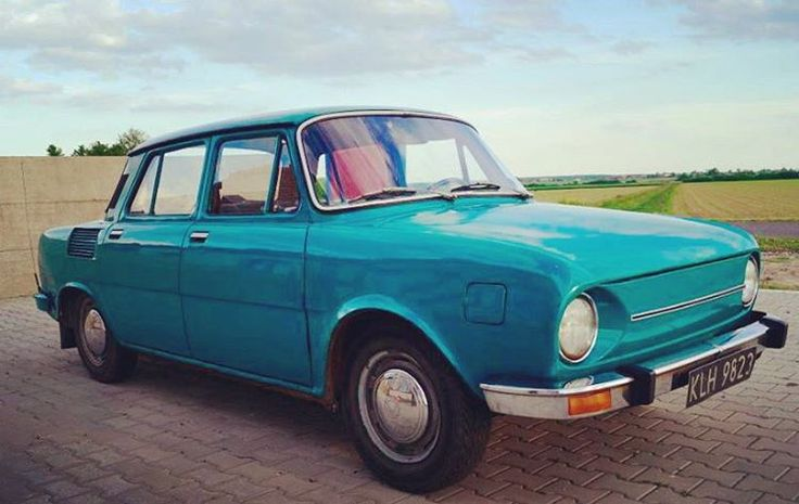 This is a Škoda, our adventure car of choice when cruising around Warsaw. 25,500 original miles, no rust, 36mpg, cheap as chips, and downright adorable. Head to our website to learn a little about Eastern Bloc classics and how you can own this.