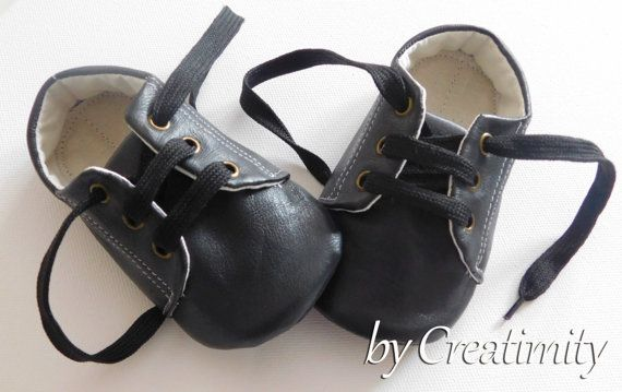 Leather baby shoesbaby boy shoesbaby boy by CreatimityCasual