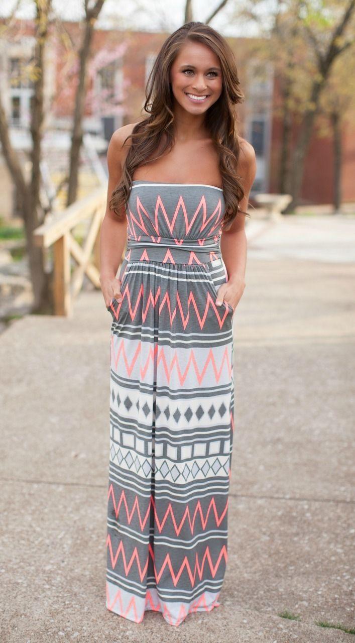 Best 25+ Aztec maxi dresses ideas on Pinterest | Mint maxi skirts ...