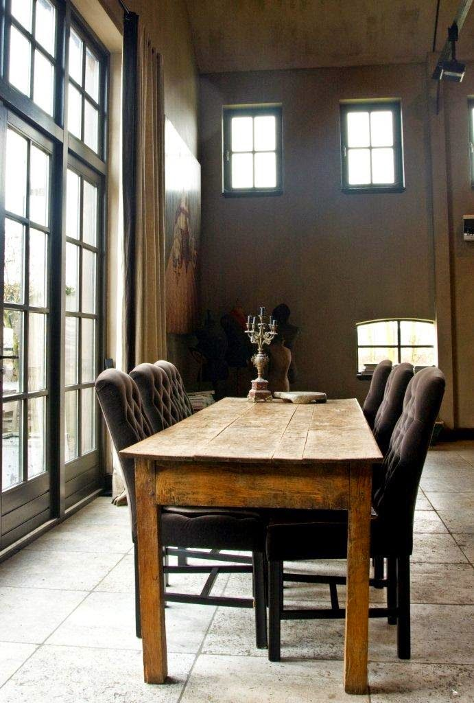 Beautiful Rustic Elegant Dining Room