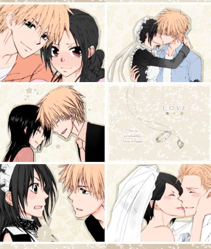 Kaichou wa maid-Sama! Misaki Ayuzawa and Takumi Usui OTP so cute!!! >< #anime #manga romance, comedy, and school LOVE