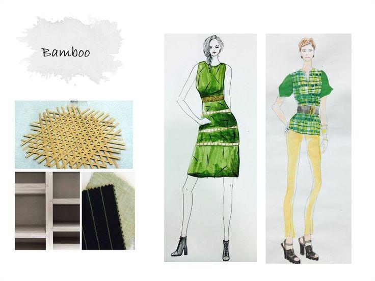 Group 6 Theme Sagunja Bamboo Fashion Design Idea Development Sungkyunkwan Univ 2014 Fall