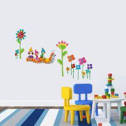 Caterpillars on the loose!  Ge barnrummet ett extra lyft med detta väggdekor som föreställer en larv och några tomtar! Det snygga mönstret och snyggt kombinerade färgerna är en av anledningarna till varför denna är vår bästsäljare.  Länk till produkt: http://www.feelhome.se/produkt/caterpillars-on-the-loose/  #Homedecoration #art #interior #design #Walldecor #väggdekor #interiordesign #Vardagsrum #Kontor #vägg #inredning #inredningstips #heminredning #blomma #natur #barn #barnrum…