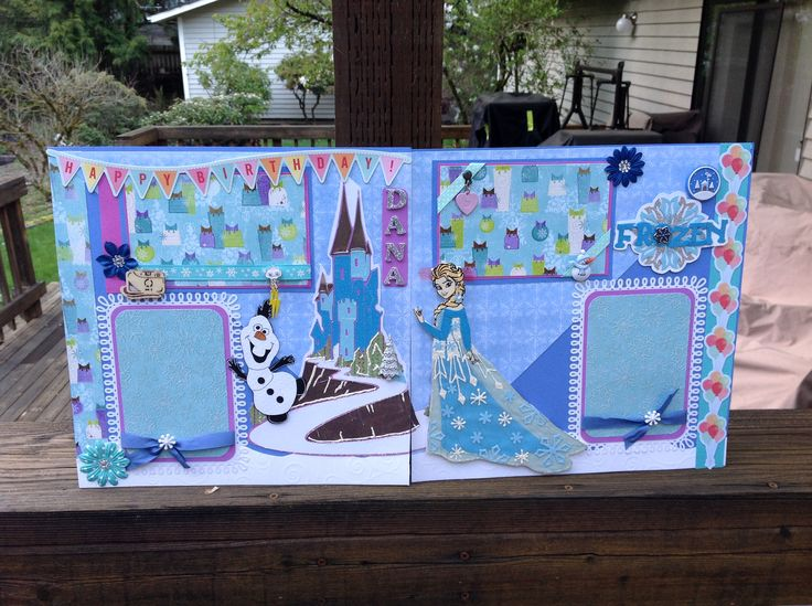 198 best princess layouts images on pinterest for Waterfall design in scrapbook