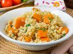 Булгур с тыквой - Пошаговый рецепт с фото | Блюда из овощей | Гарниры | Вкусный блог - рецепты под настроение