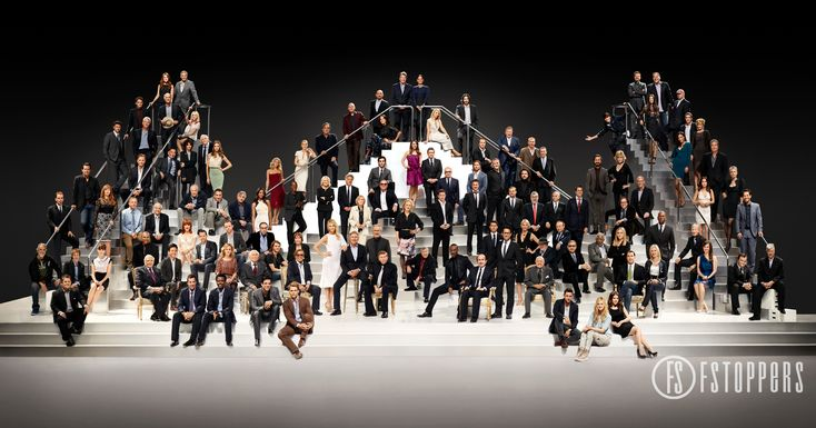 Paramount Pictures celebrates it's 100th anniversary with 116 famous actors and actresses! Official Photoshoot