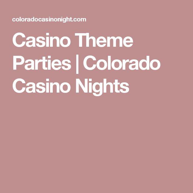 Casino Theme Parties | Colorado Casino Nights
