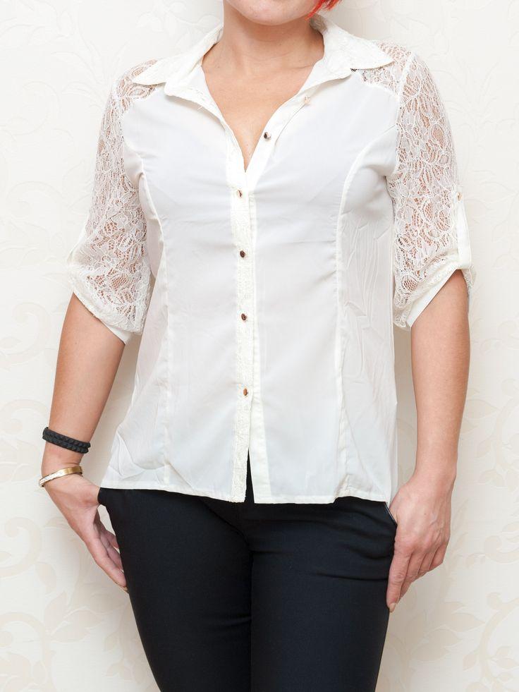 Košeľa biela #košeľa #blúzka