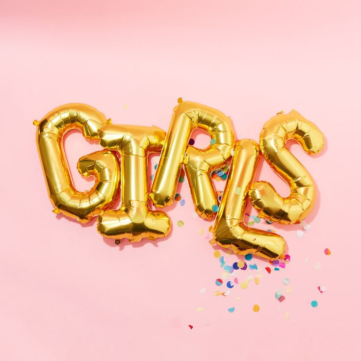 GIRLS balloons