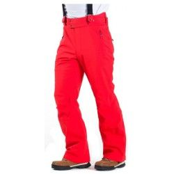 Pantalon de ski homme Degré7 Everest rouge