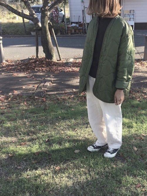 df7efb90e47804 keitooo 6(ROKU) BEAUTY&YOUTH UNITED ARROWSのパンツを使ったコーディネート   My WEAR   How  to wear、Bomber Jacket、Jackets