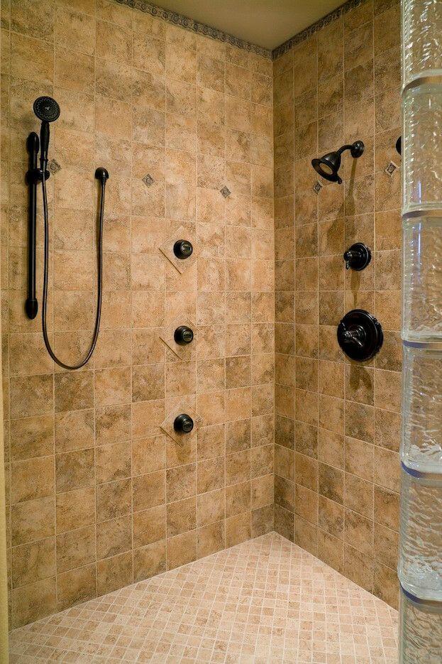 How To Retile A Shower Shower Tile Shower Floor Shower Remodel