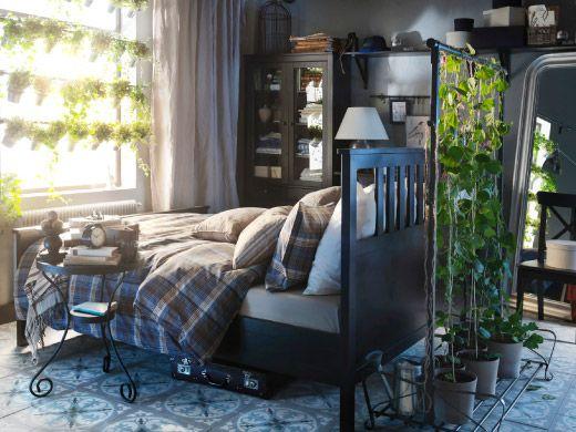 Nature in the Bedroom (Sovrumsmöbler - Sängar, madrasser, garderober, sänglampor - IKEA)