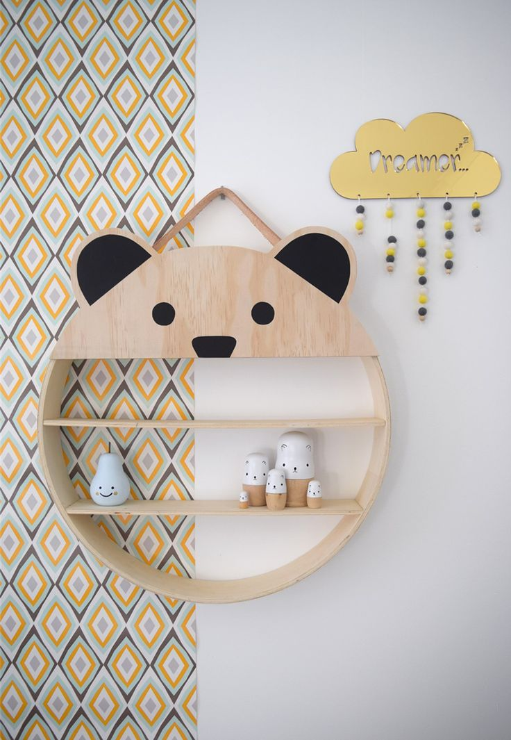 Woodland animals in Kids' Rooms - by Kids Interiors