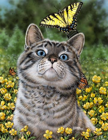"""Buttercup"" by artist Marilyn Barkhouse"