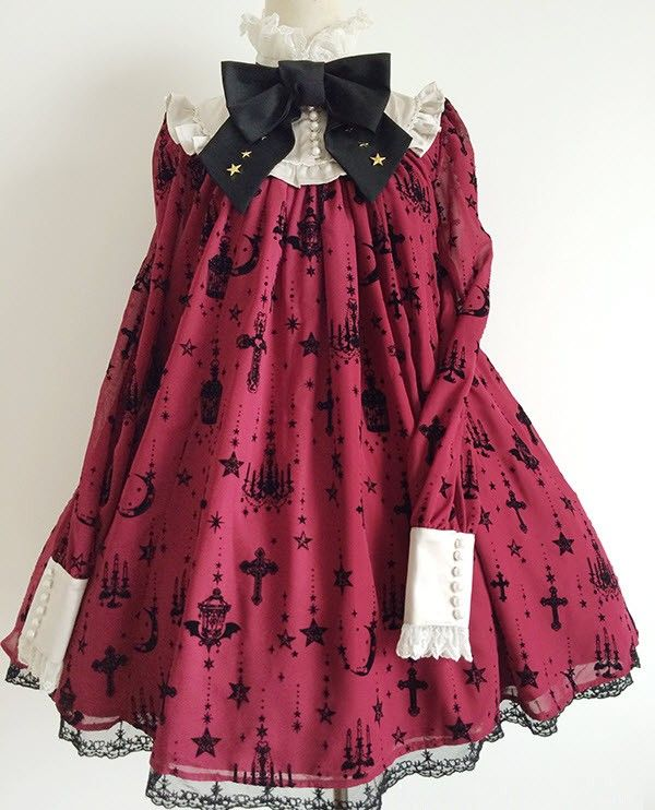 Angelic Pretty Replica Holy Lantern Lolita OP Dress $128.99- Lolita Dresses - My Lolita Dress