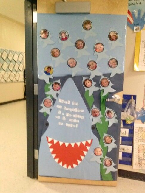 Cool Door Shark For Teacher Appreciation Week Jl Mmes