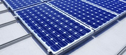 sunsnap solar panels-sharpusa.com  start with one module and add more over time-they just snap together!