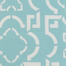 Robin By Duralee In A Geometric Pattern