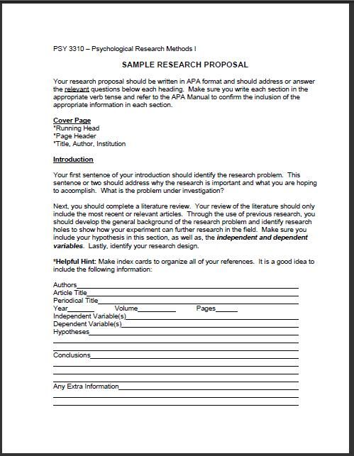 how to write hypothesis for research proposal
