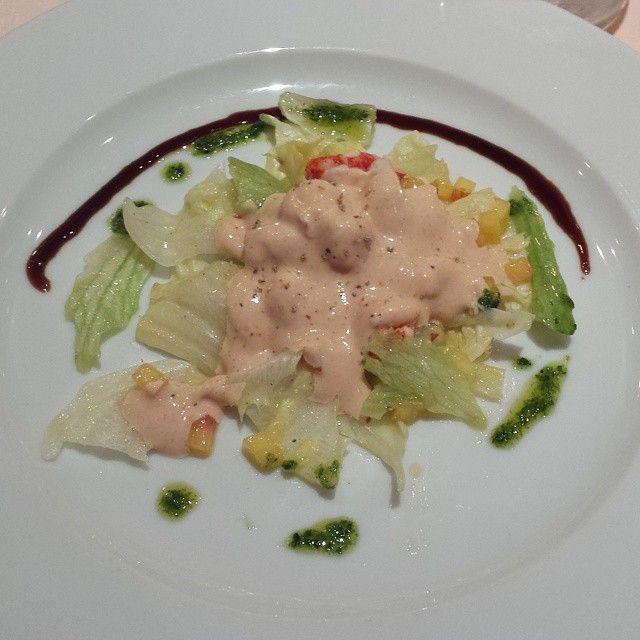 Antipasto al ristorante dell'hotel Hvala #slovenia #Slovenija #grandeguerra