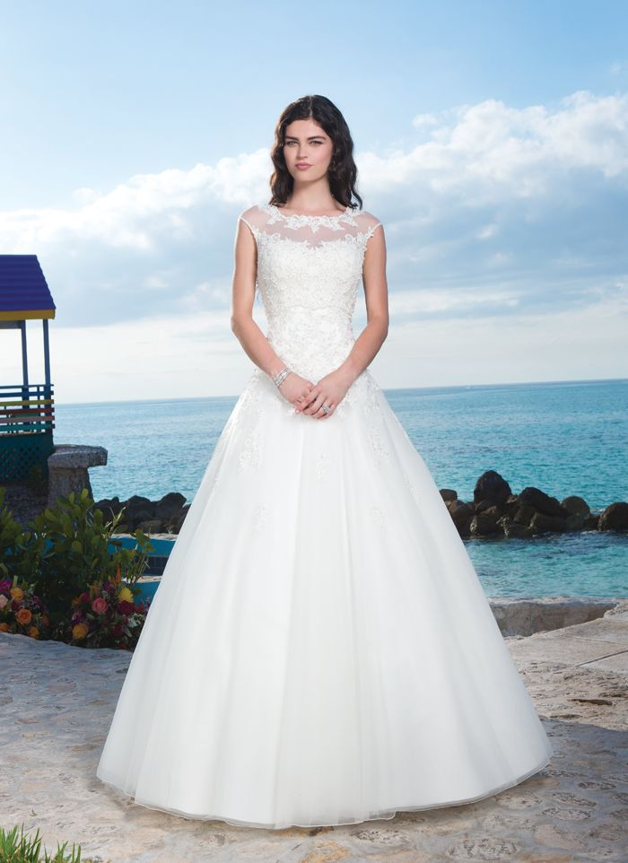 Sincerity Wedding Dress Style 3771 The Exumas Elegance