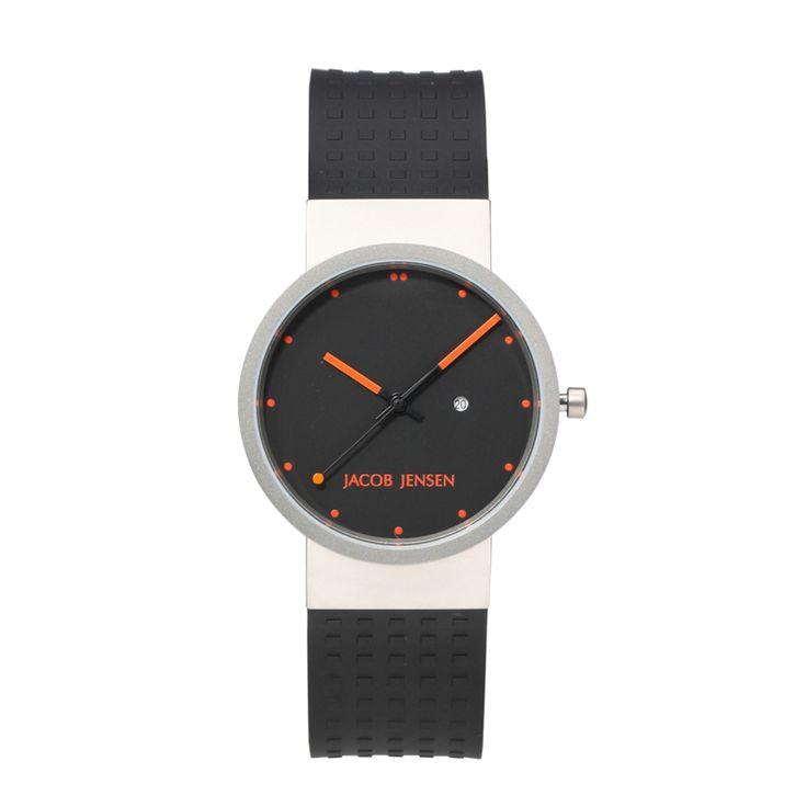 Clear Series 410 heren quartz horloge, Jacob Jensen