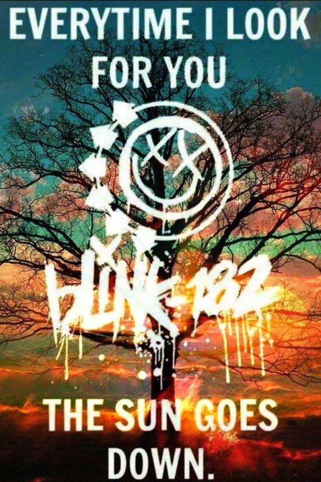 Blink 182 sun goes down ❤❤❤❤❤❤