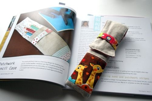 Zakka Style : : Rashida Coleman-Hale : : Patchwork Pencil Case