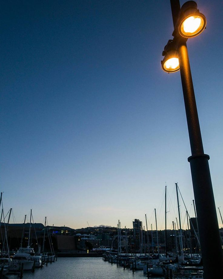 Wellington Harbour from a few days ago. Winter weather has been pretty decent so…