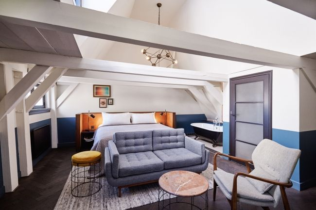 A new Hoxton Hotel opens in a 17th Century canal house in Amsterdam - Vogue Living