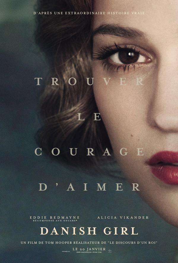Alicia Vikander s'affiche pour The Danish Girl