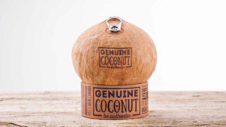 Genuine Coconut se bebe directamente en su envase original, por lo que no lleva ningún procesado, ni aditivo, ni conservante que altere sus propiedades. #Organico