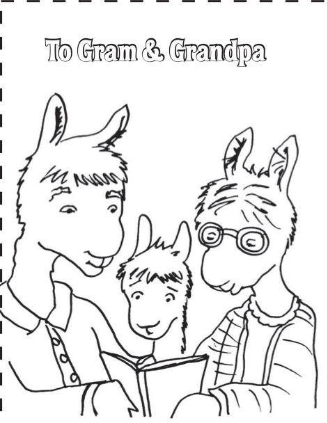 llama llama red pajama coloring pages coloring pages