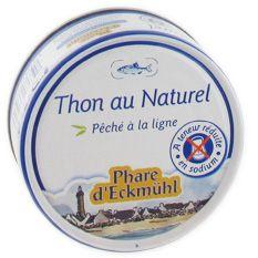 PHARE D'ECKMUHL THON NATUREL SANS SEL 112G
