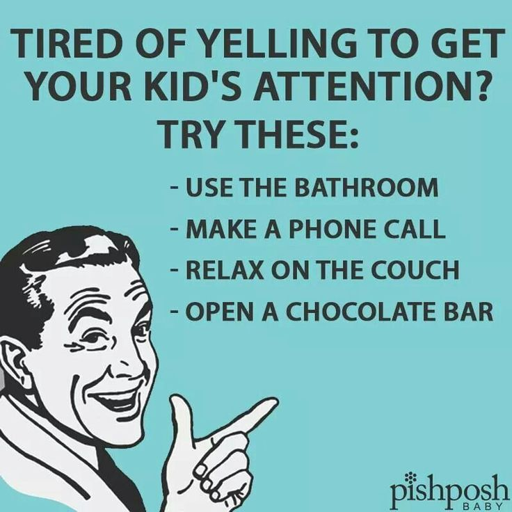Tired of trying to get your kids attention