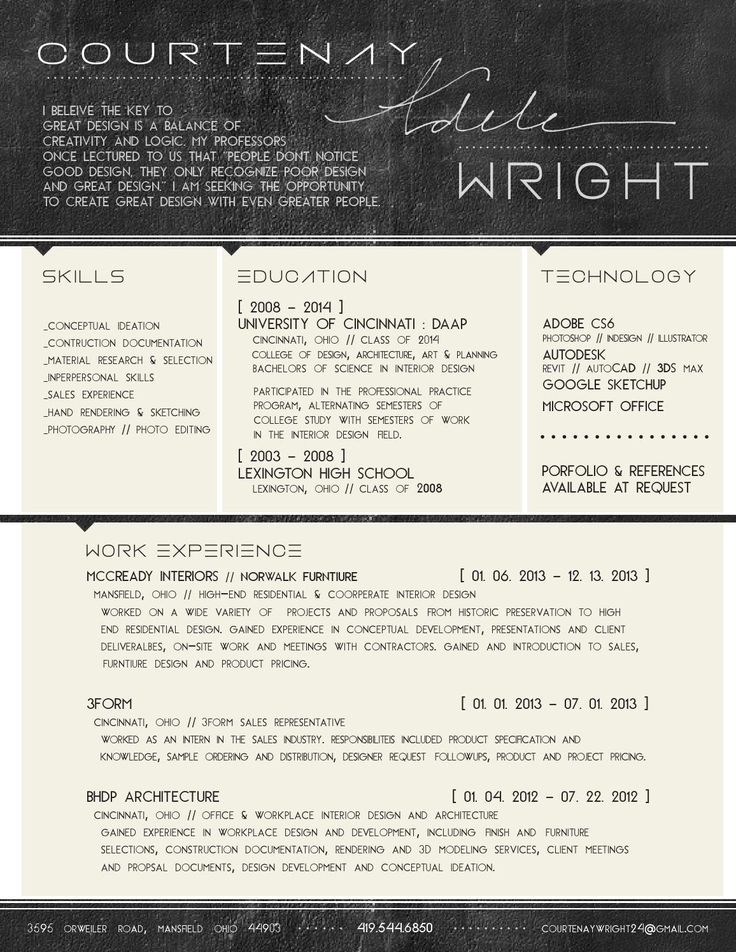 interior design resume student samples format for fresher designer word