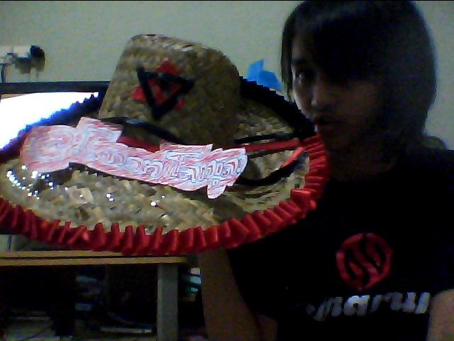 thats is topi purun ! from indonesian