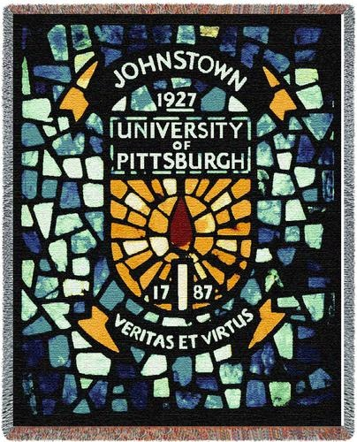 PENNSYLVANIA University of Pittsburgh Crest Tapestry Throw PC-5096-T
